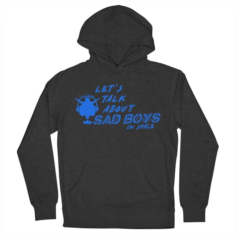 Sad Bois Blue Men's Pullover Hoody by Mobile Suit Breakdown's Shop