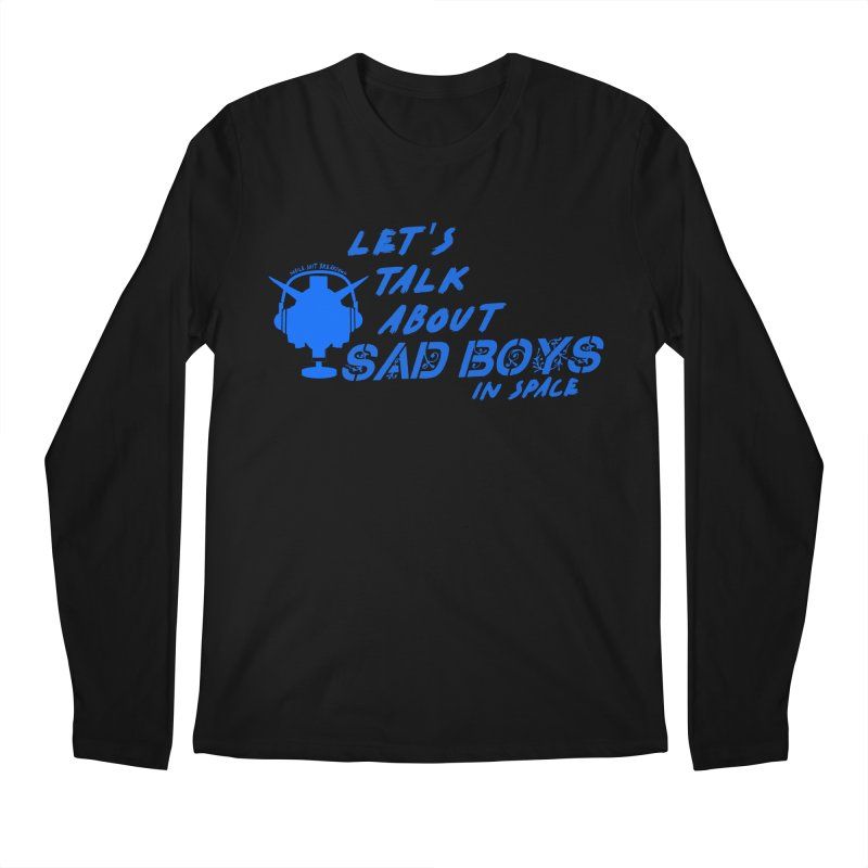Sad Bois Blue Men's Regular Longsleeve T-Shirt by Mobile Suit Breakdown's Shop