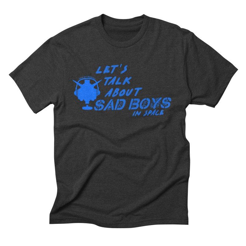 Sad Bois Blue Men's Triblend T-Shirt by Mobile Suit Breakdown's Shop