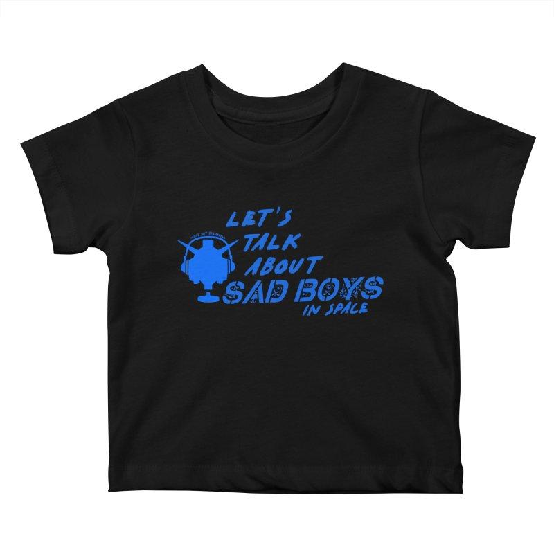 Sad Bois Blue Kids Baby T-Shirt by Mobile Suit Breakdown's Shop