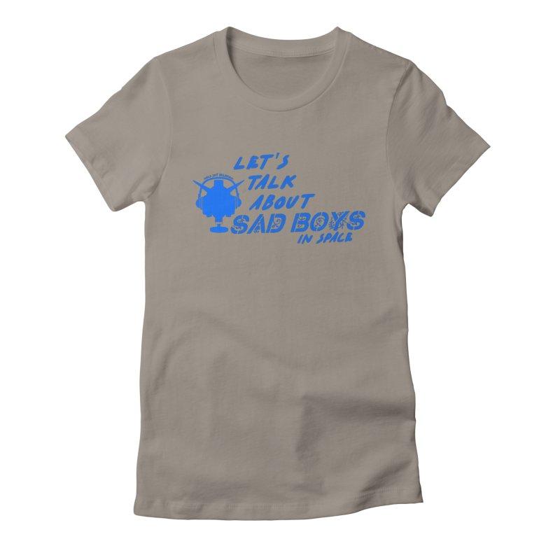 Sad Bois Blue Women's T-Shirt by Mobile Suit Breakdown's Shop