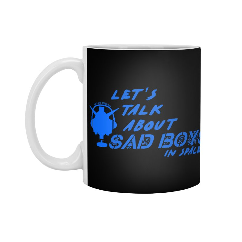 Sad Bois Blue Accessories Standard Mug by Mobile Suit Breakdown's Shop