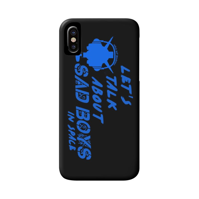 Sad Bois Blue Accessories Phone Case by Mobile Suit Breakdown's Shop