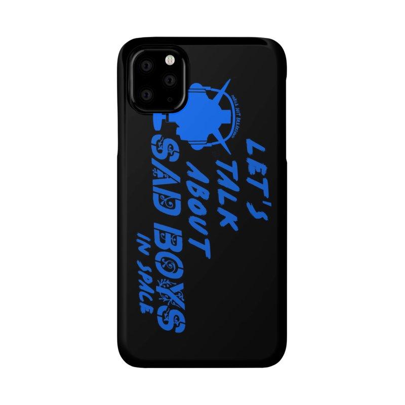 Sad Bois Blue Accessories Phone Case by Mobile Suit Breakdown's Shop