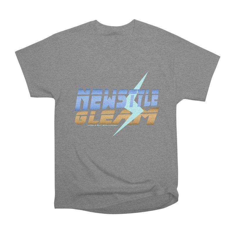 Newstyle Gleam! Men's T-Shirt by Mobile Suit Breakdown's Shop