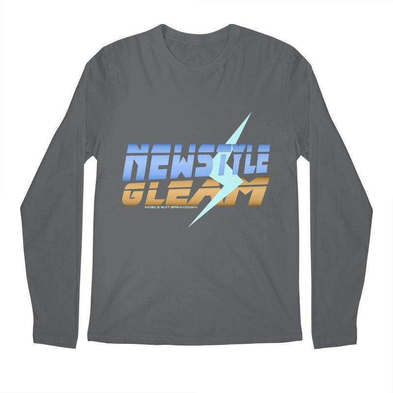 Newstyle Gleam! Men's Longsleeve T-Shirt by Mobile Suit Breakdown's Shop