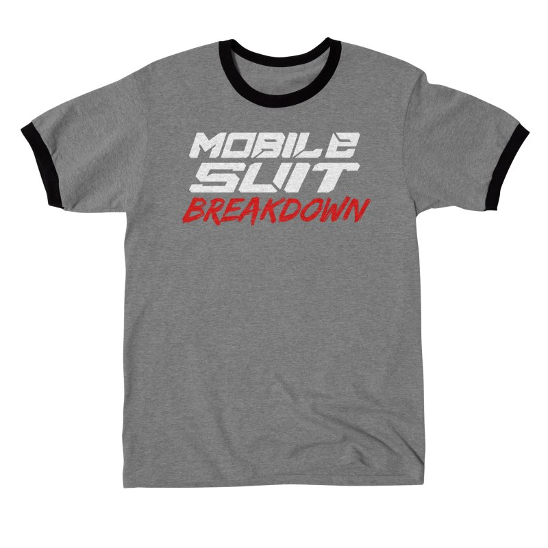 """Mobile Suit Breakdown"" Men's T-Shirt by Mobile Suit Breakdown's Shop"