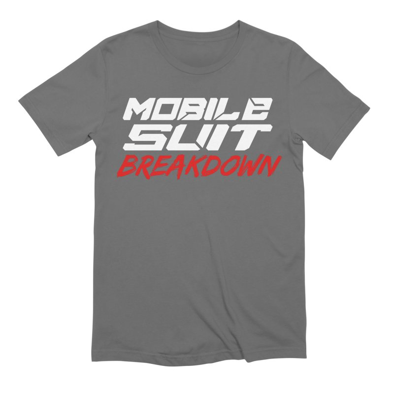 """Mobile Suit Breakdown"" Men's T-Shirt by Mobile Suit Breakdown's Shop"