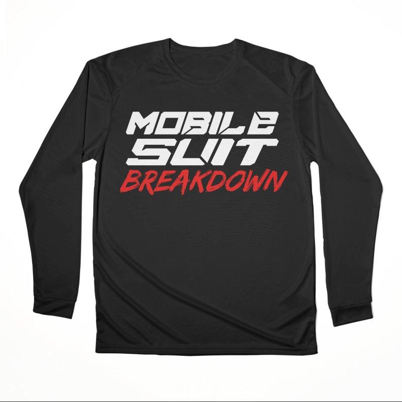"""""""Mobile Suit Breakdown"""" Women's Longsleeve T-Shirt by Mobile Suit Breakdown's Shop"""