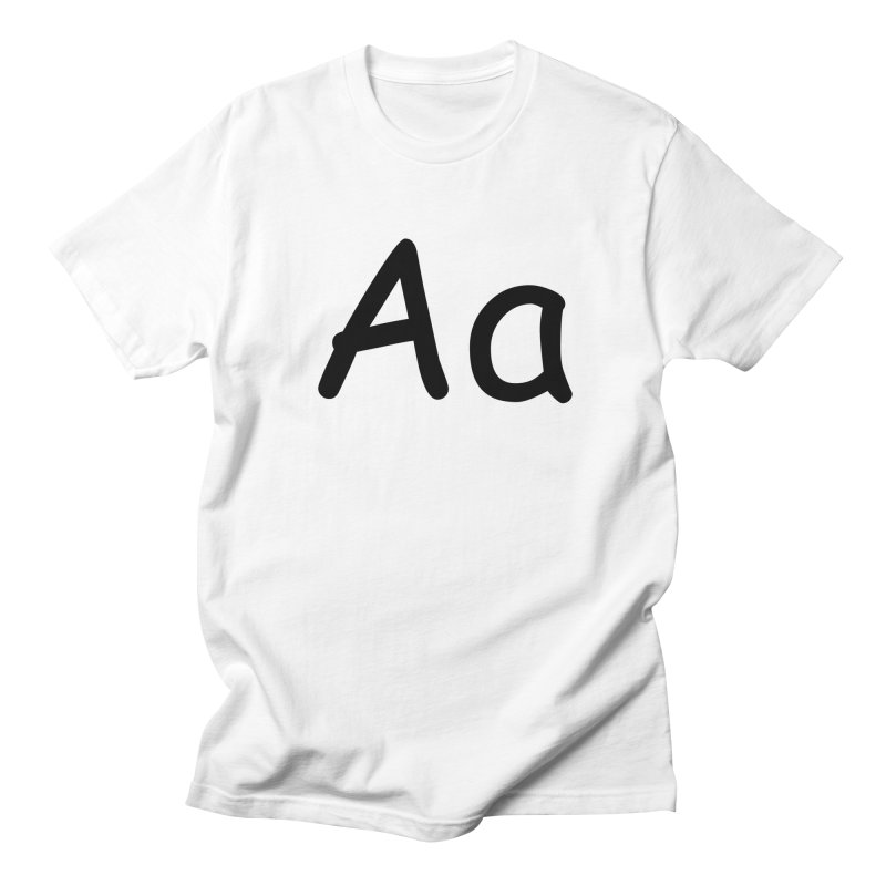 Aa Men's T-Shirt by The Haus of Gunnarolla