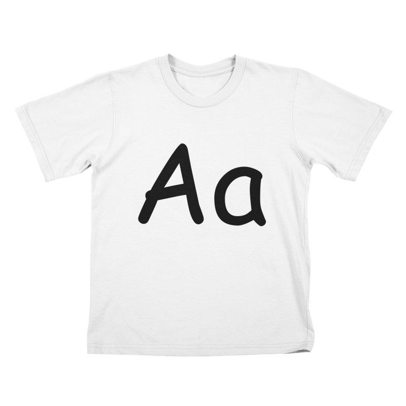 Aa Kids T-Shirt by The Haus of Gunnarolla