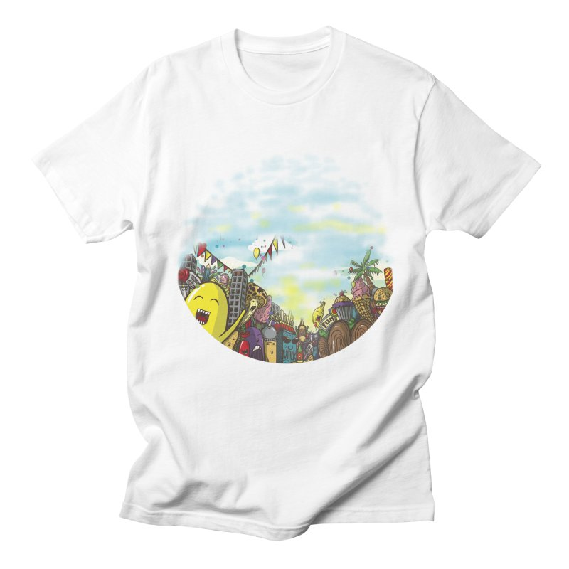 FOODIES Men's T-shirt by gupikus's Artist Shop