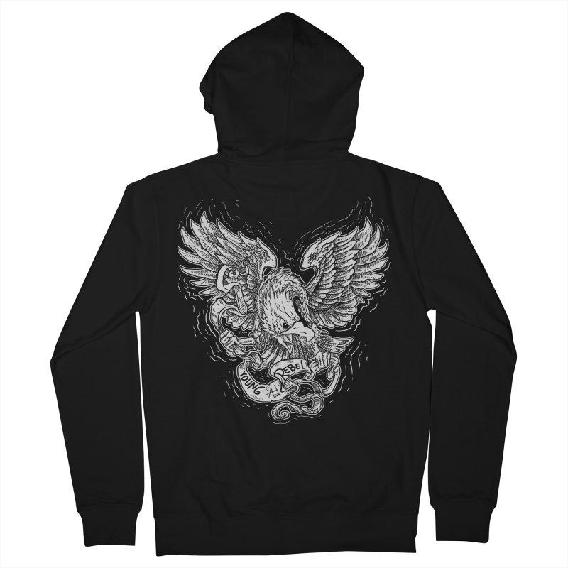 eagle Women's Zip-Up Hoody by gupikus's Artist Shop