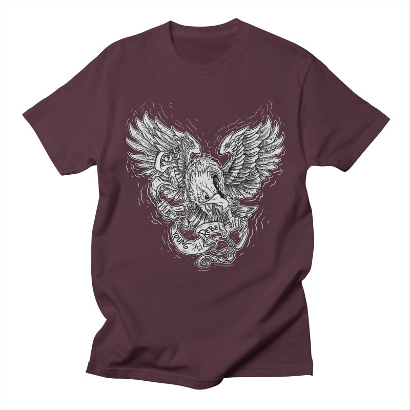 eagle Men's T-shirt by gupikus's Artist Shop