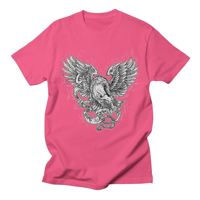 eagle Men's T-shirt by gupikus's Artist Shop
