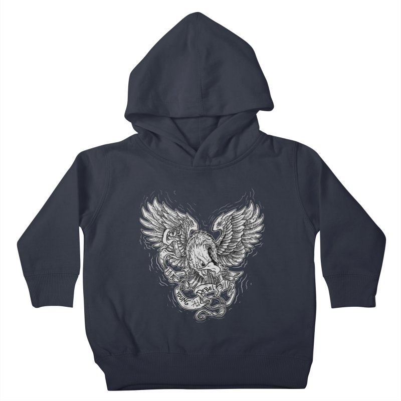 eagle Kids Toddler Pullover Hoody by gupikus's Artist Shop