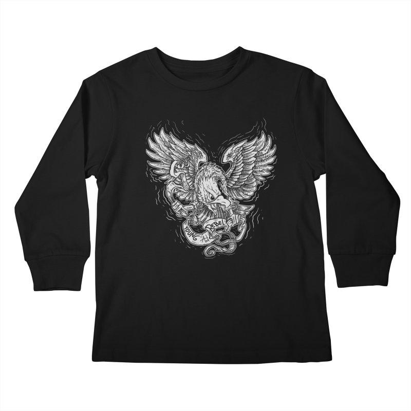 eagle Kids Longsleeve T-Shirt by gupikus's Artist Shop