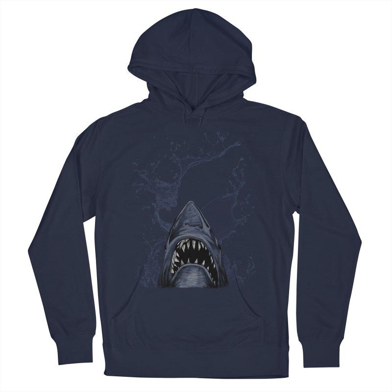 shark Men's Pullover Hoody by gupikus's Artist Shop