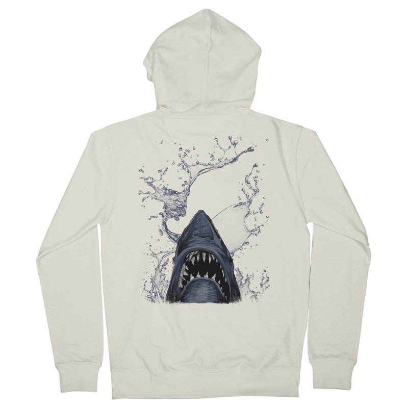 shark Women's Zip-Up Hoody by gupikus's Artist Shop