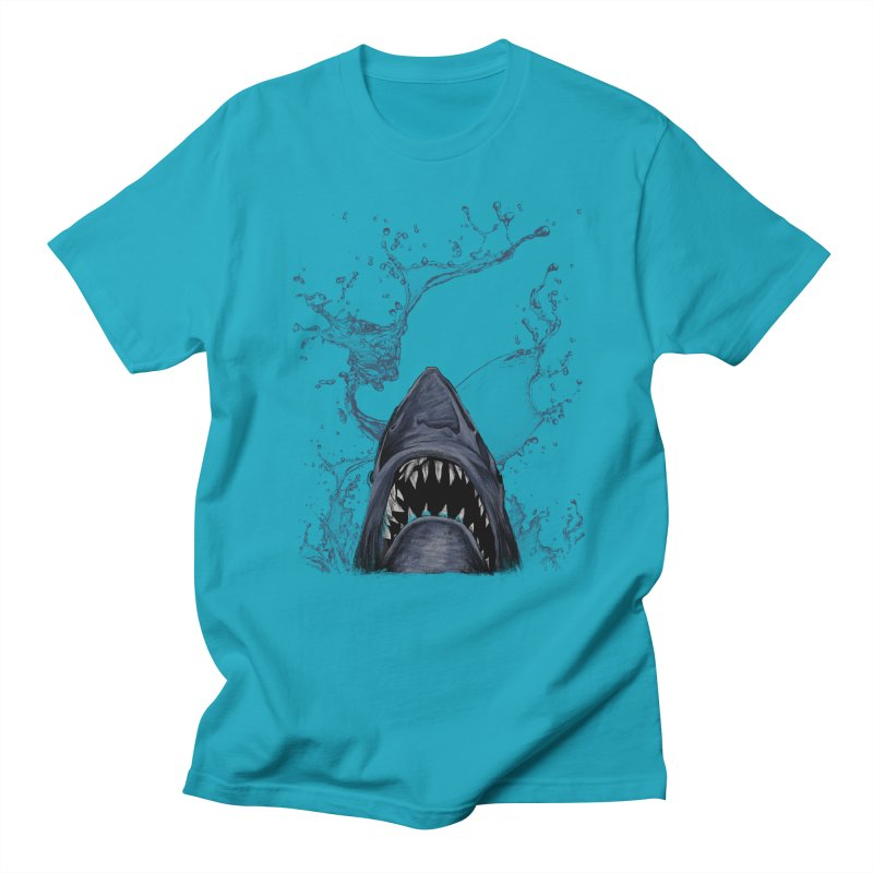 shark Men's T-shirt by gupikus's Artist Shop