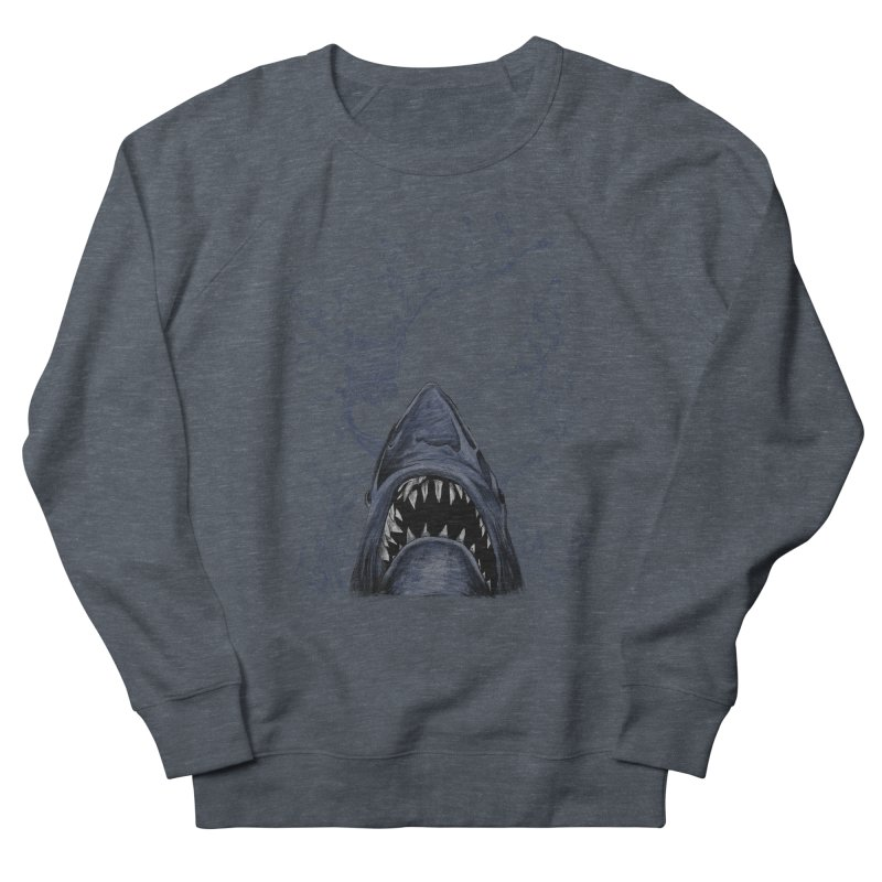 shark Women's Sweatshirt by gupikus's Artist Shop