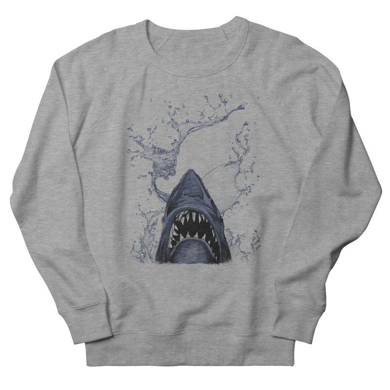 shark Men's Sweatshirt by gupikus's Artist Shop