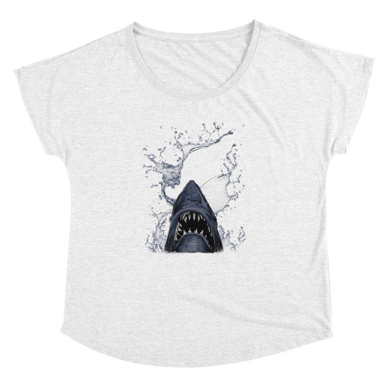 shark Women's Dolman by gupikus's Artist Shop