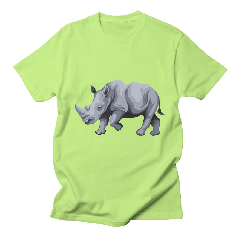 rhinoceros Men's T-shirt by gupikus's Artist Shop