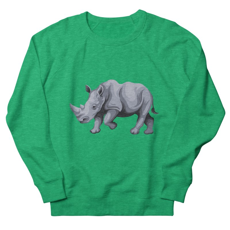rhinoceros Women's Sweatshirt by gupikus's Artist Shop