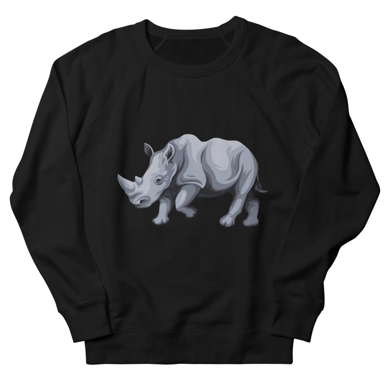 rhinoceros Women's Sweatshirt by gupikus's Artist Shop
