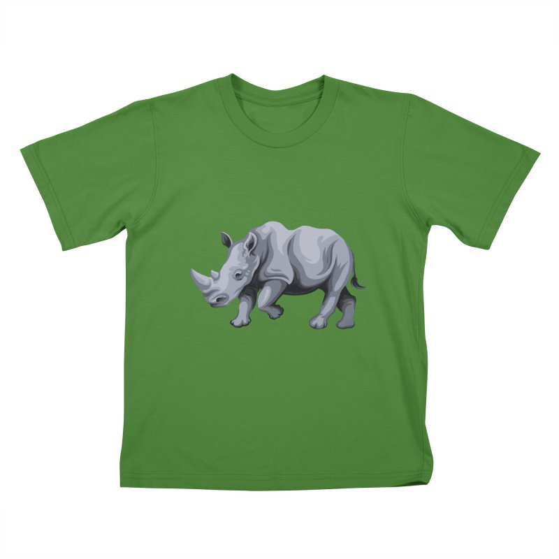 rhinoceros Kids T-Shirt by gupikus's Artist Shop