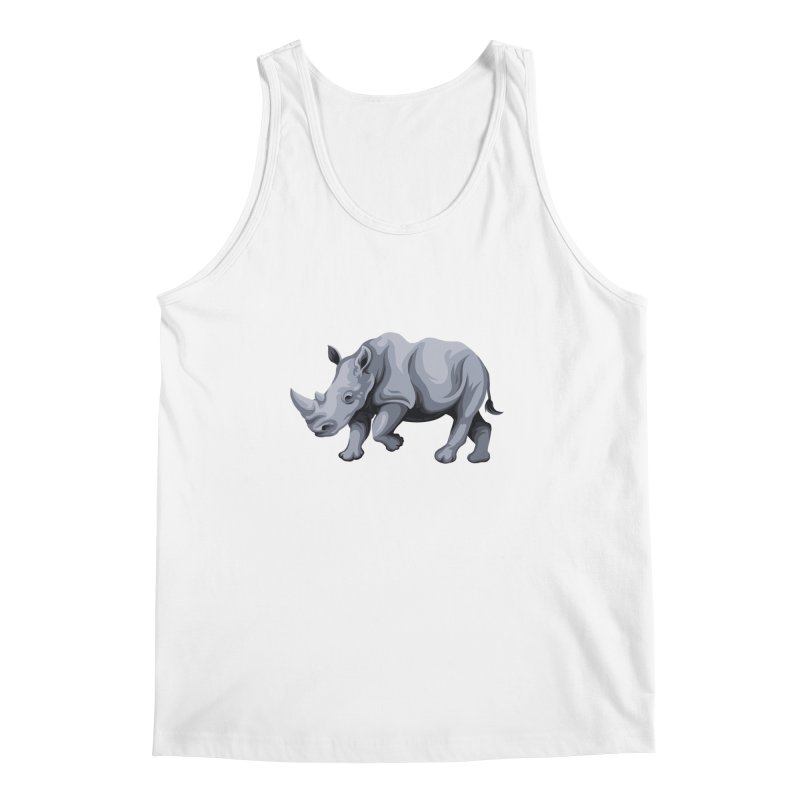 rhinoceros Men's Tank by gupikus's Artist Shop