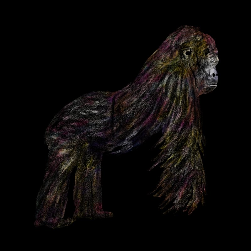 gorilla by gupikus's Artist Shop
