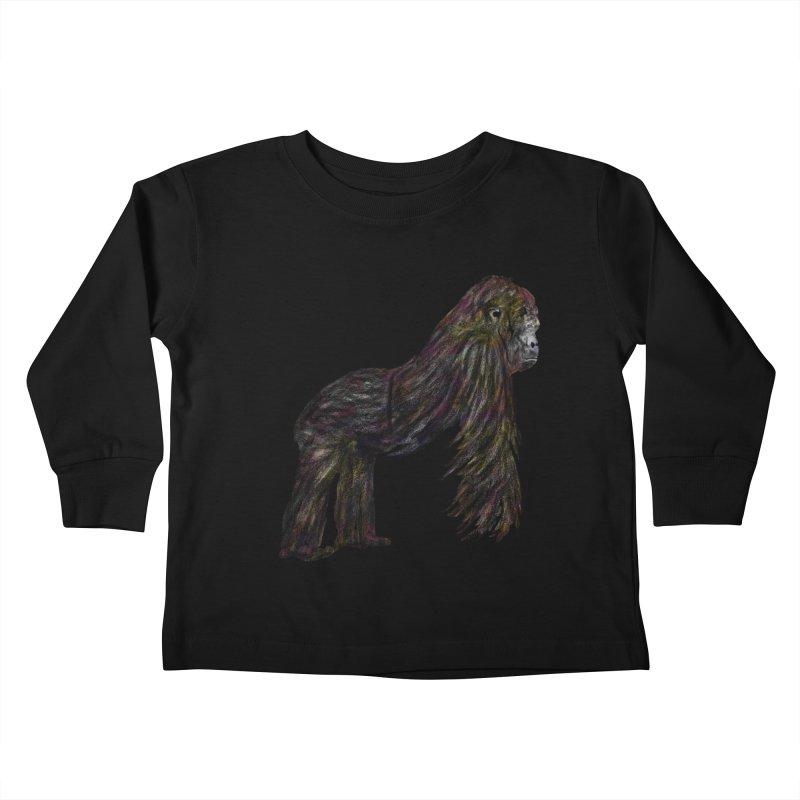 gorilla Kids Toddler Longsleeve T-Shirt by gupikus's Artist Shop
