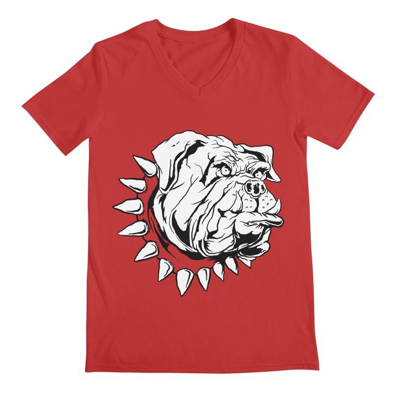 doggies Men's V-Neck by gupikus's Artist Shop