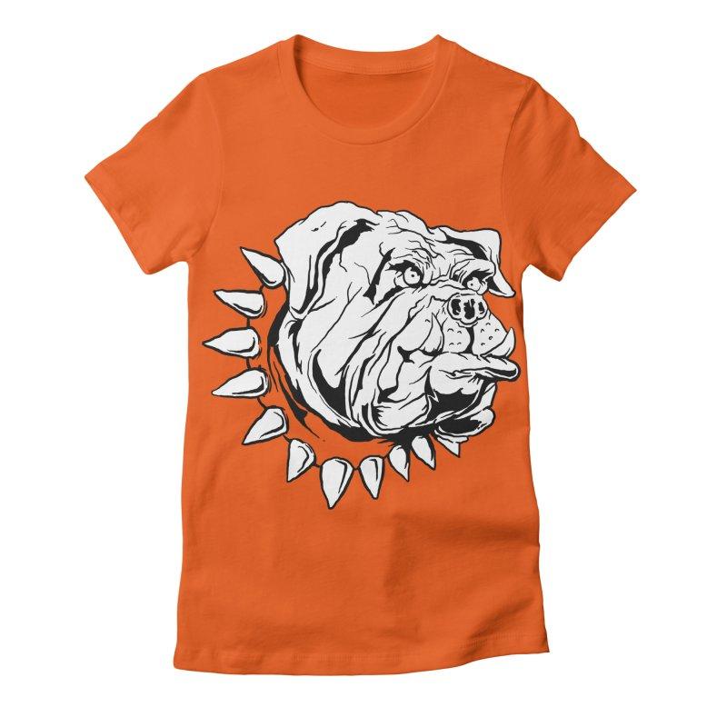 doggies Women's Fitted T-Shirt by gupikus's Artist Shop