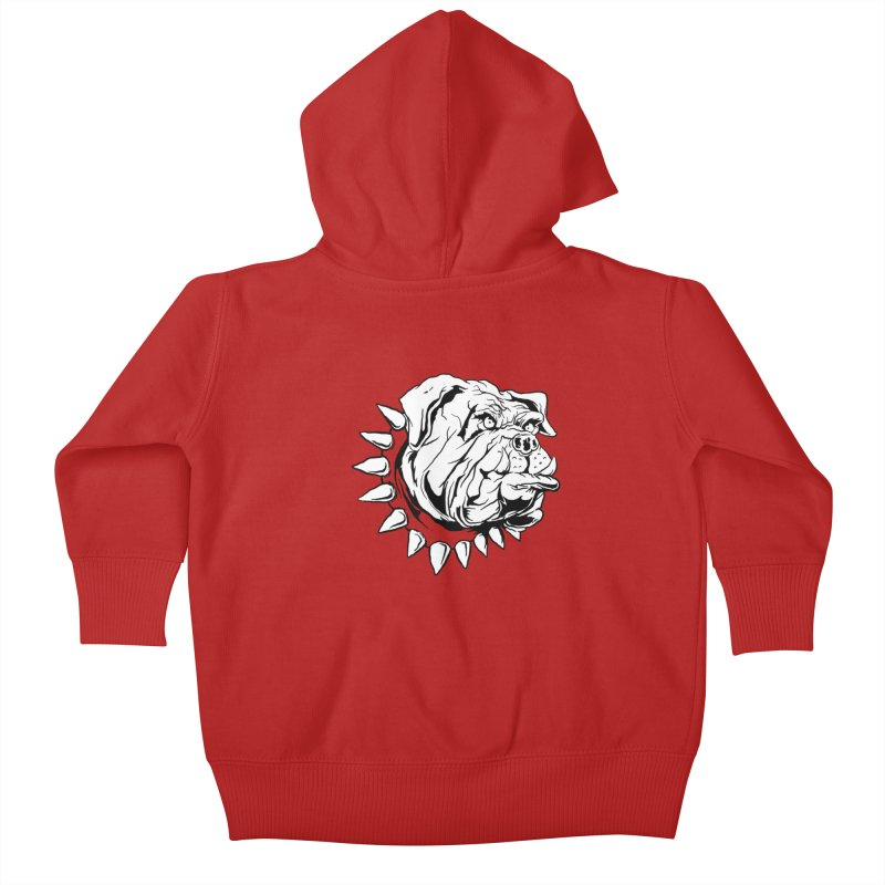 doggies Kids Baby Zip-Up Hoody by gupikus's Artist Shop