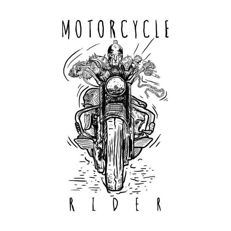motorcycle Men's T-shirt by gupikus's Artist Shop