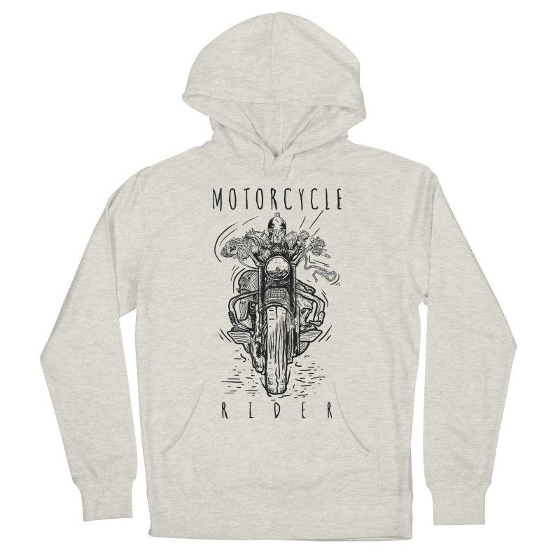 motorcycle Men's Pullover Hoody by gupikus's Artist Shop