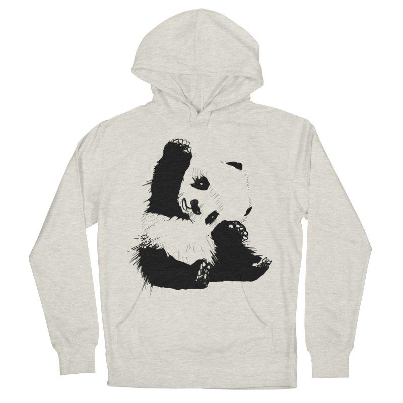 hallo panda Women's Pullover Hoody by gupikus's Artist Shop