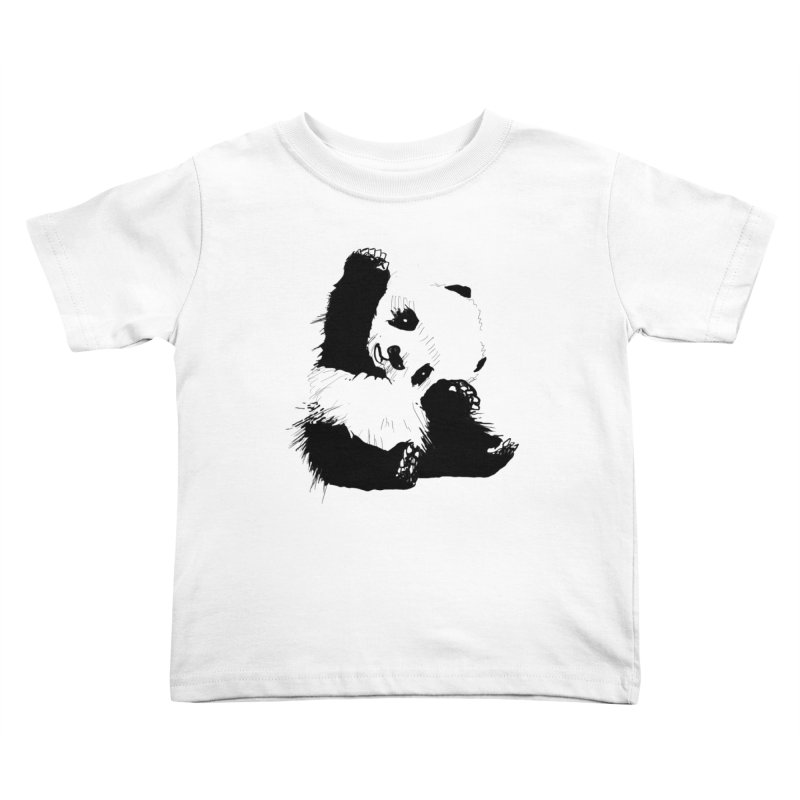 hallo panda Kids Toddler T-Shirt by gupikus's Artist Shop