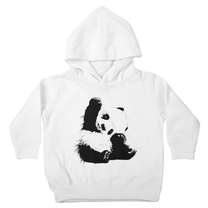 hallo panda Kids Toddler Pullover Hoody by gupikus's Artist Shop