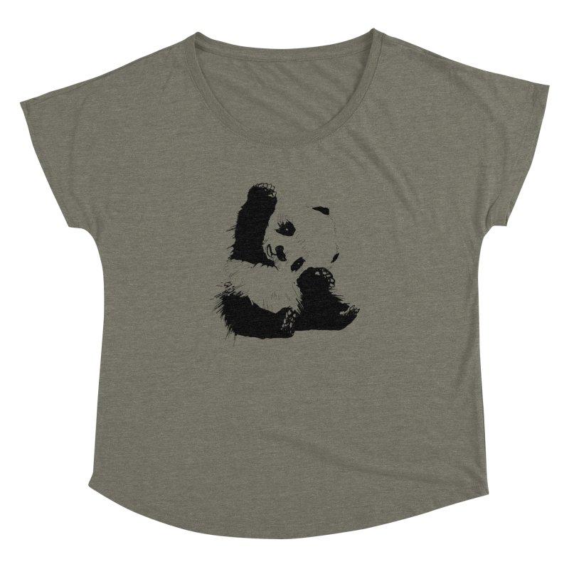hallo panda Women's Dolman by gupikus's Artist Shop