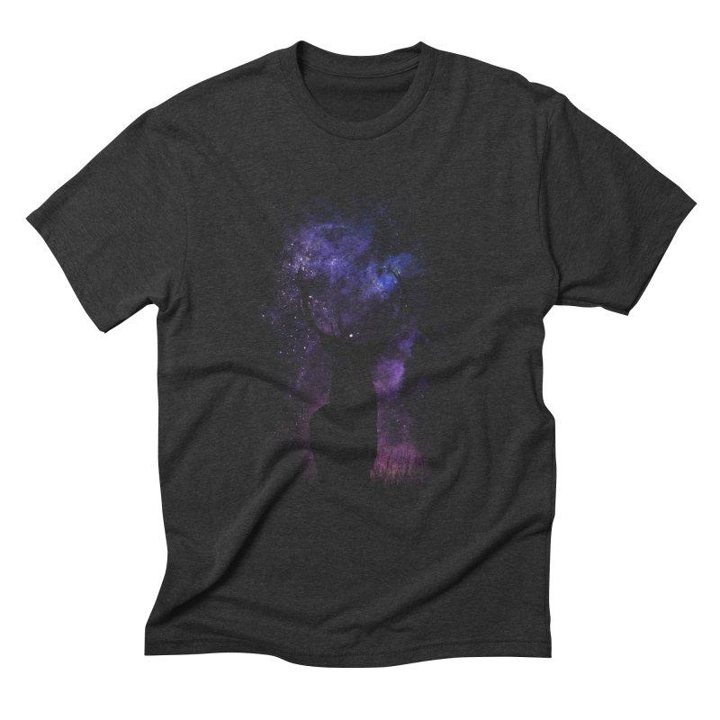 deer Men's Triblend T-Shirt by gupikus's Artist Shop