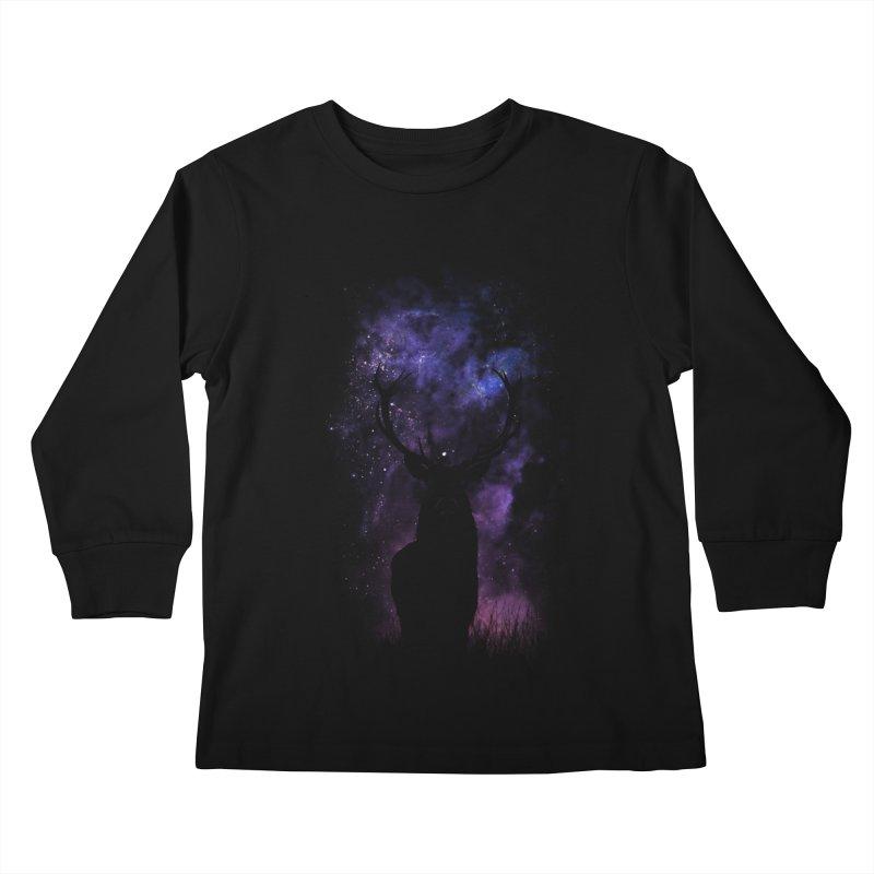 deer Kids Longsleeve T-Shirt by gupikus's Artist Shop