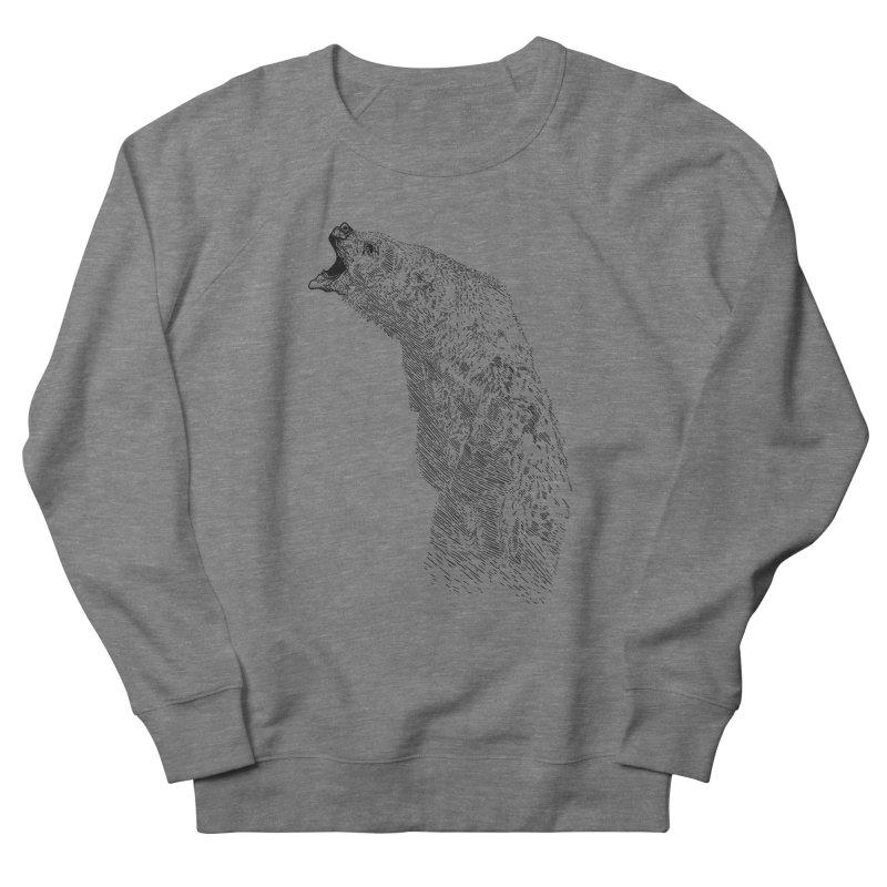 bearoar Men's French Terry Sweatshirt by gupikus's Artist Shop