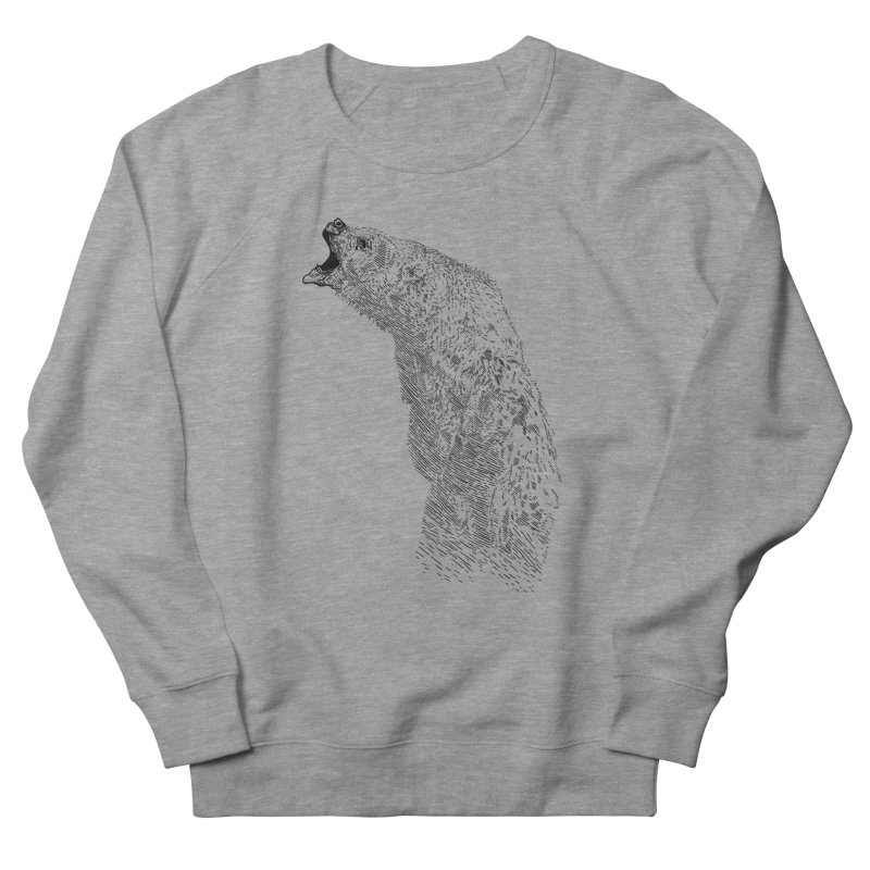 bearoar Men's French Terry Sweatshirt by gupikus's Artist Shop