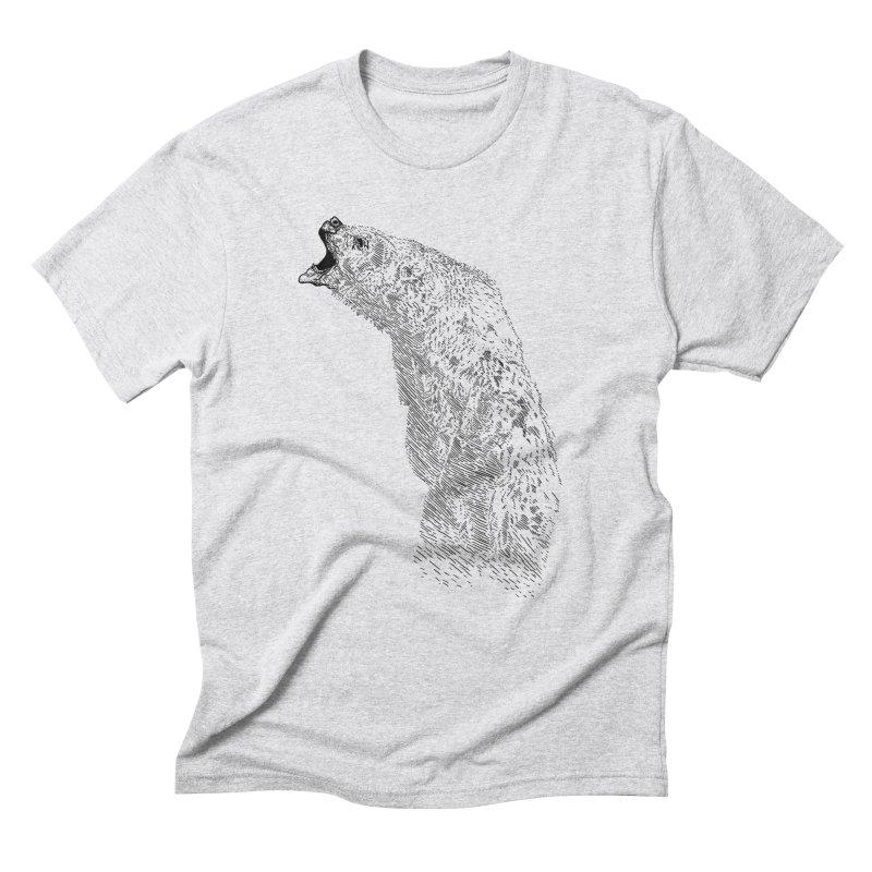 bearoar Men's Triblend T-Shirt by gupikus's Artist Shop
