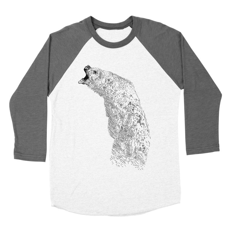 bearoar Men's Baseball Triblend T-Shirt by gupikus's Artist Shop
