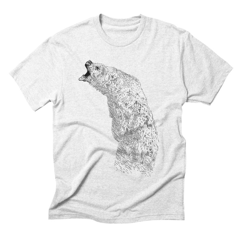 bearoar Men's Triblend T-shirt by gupikus's Artist Shop